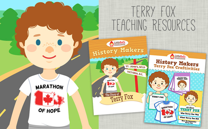 Terry fox clipart.