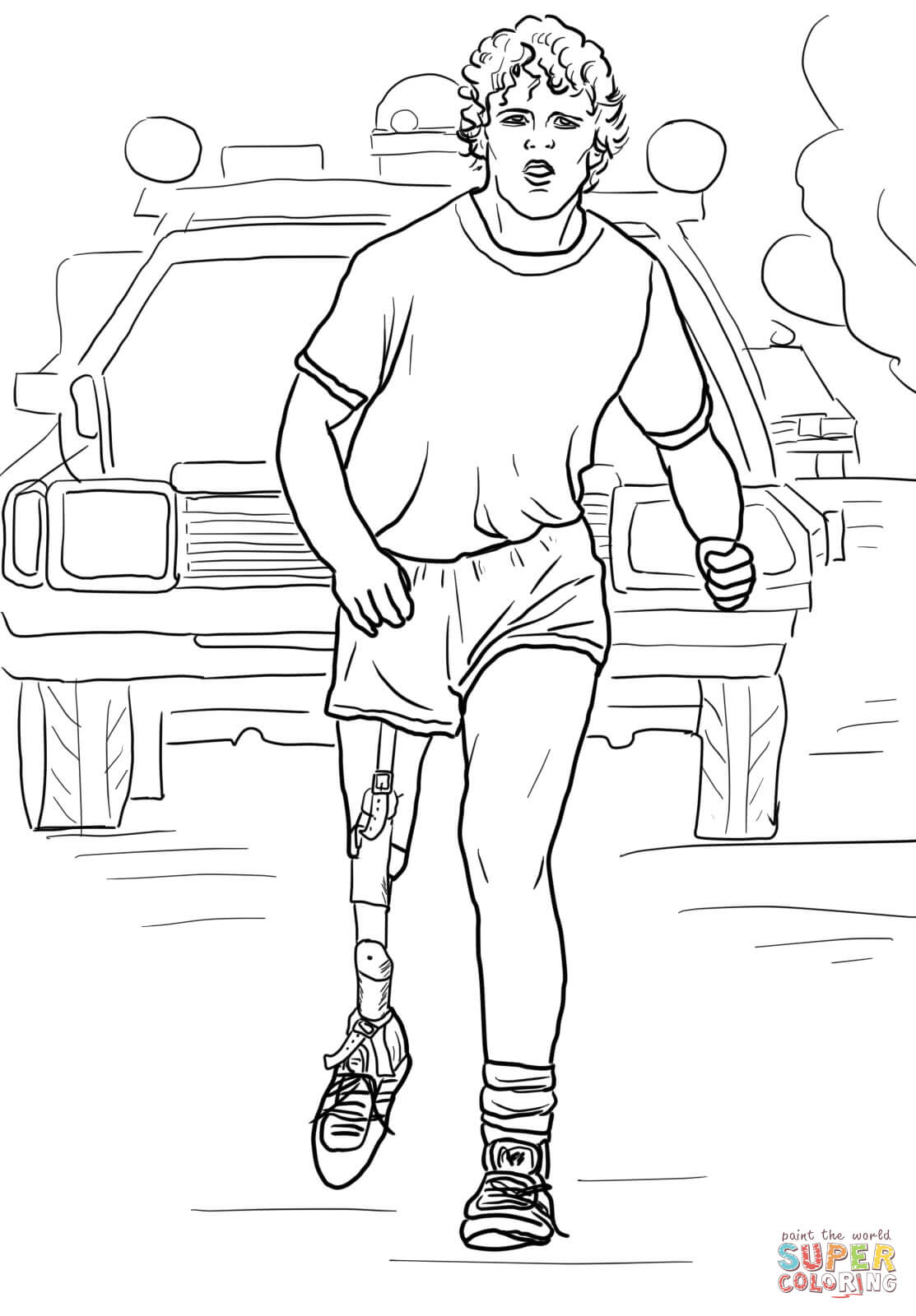 Terry Fox Clipart Free.