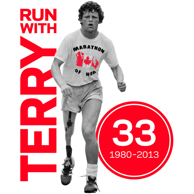 Terry Fox Run Clipart.