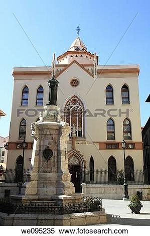 Stock Image of Convent in the center of Teruel town Aragon Spain.