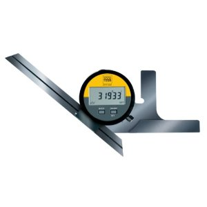 Brown & Sharpe TESA 00630010 Digital Angle Protractor with.