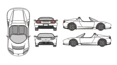 Tesla clipart clipground tesla car clipart malvernweather Choice Image