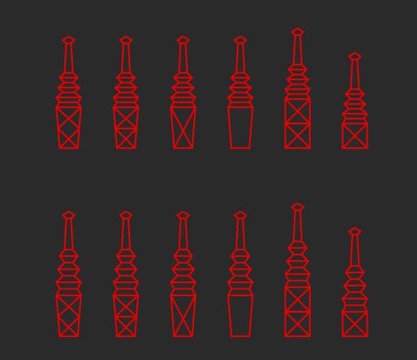 Tesla Towers Clip Art at Clker.com.