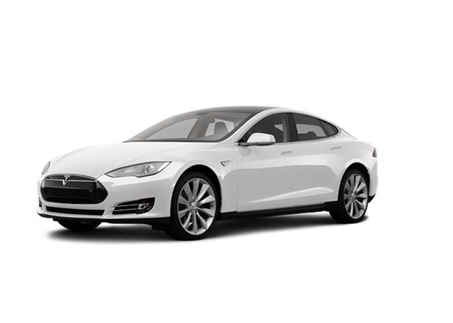 Tesla model s clipart.