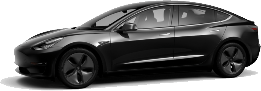 Tesla Model 3 Clipart.