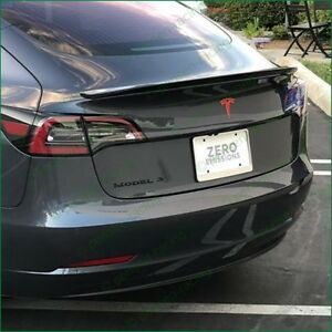 Details about Tesla Model 3 Rear T Logo Accent Inlay High Cast Vinyl Decals  Stickers Colors.