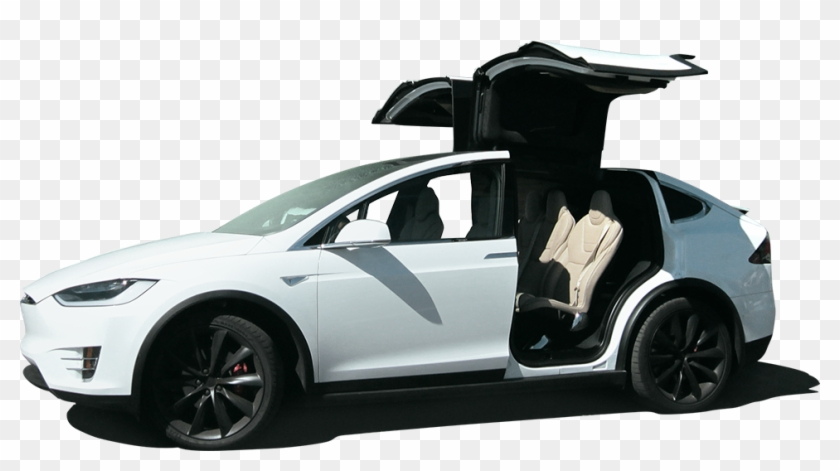 Tesla Car Model X Png, Transparent Png.