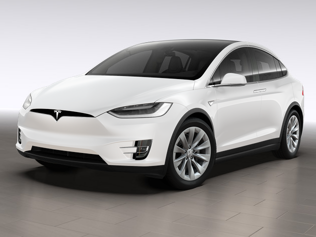 Tesla\'s new Model X 60D for $74,000.