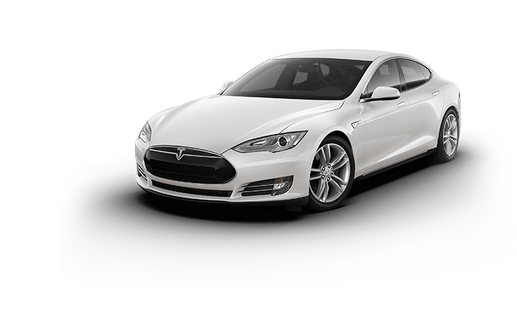 Tesla Model S transparent PNG.
