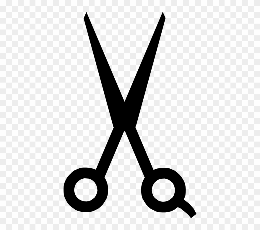 Scissors For Cutting Vector Image Illustration Of.