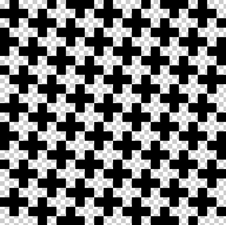 Tessellation Cross Square Geometry PNG, Clipart, Black.