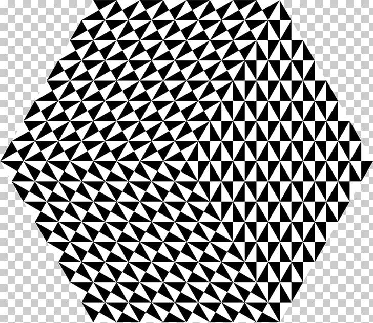 Penrose triangle Drawing Tessellation Penrose tiling, black.