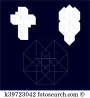 Tesseract Clip Art and Stock Illustrations. 8 tesseract EPS.