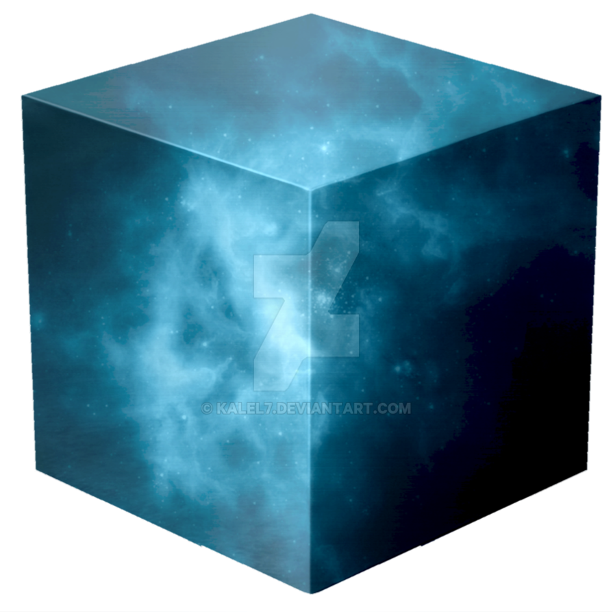 Tesseract cube test 1 by KalEl7 on DeviantArt.