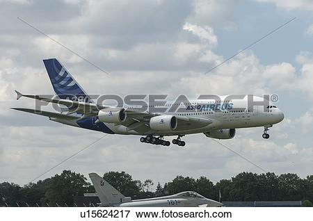 Picture of Airbus A380 flight test u15624217.