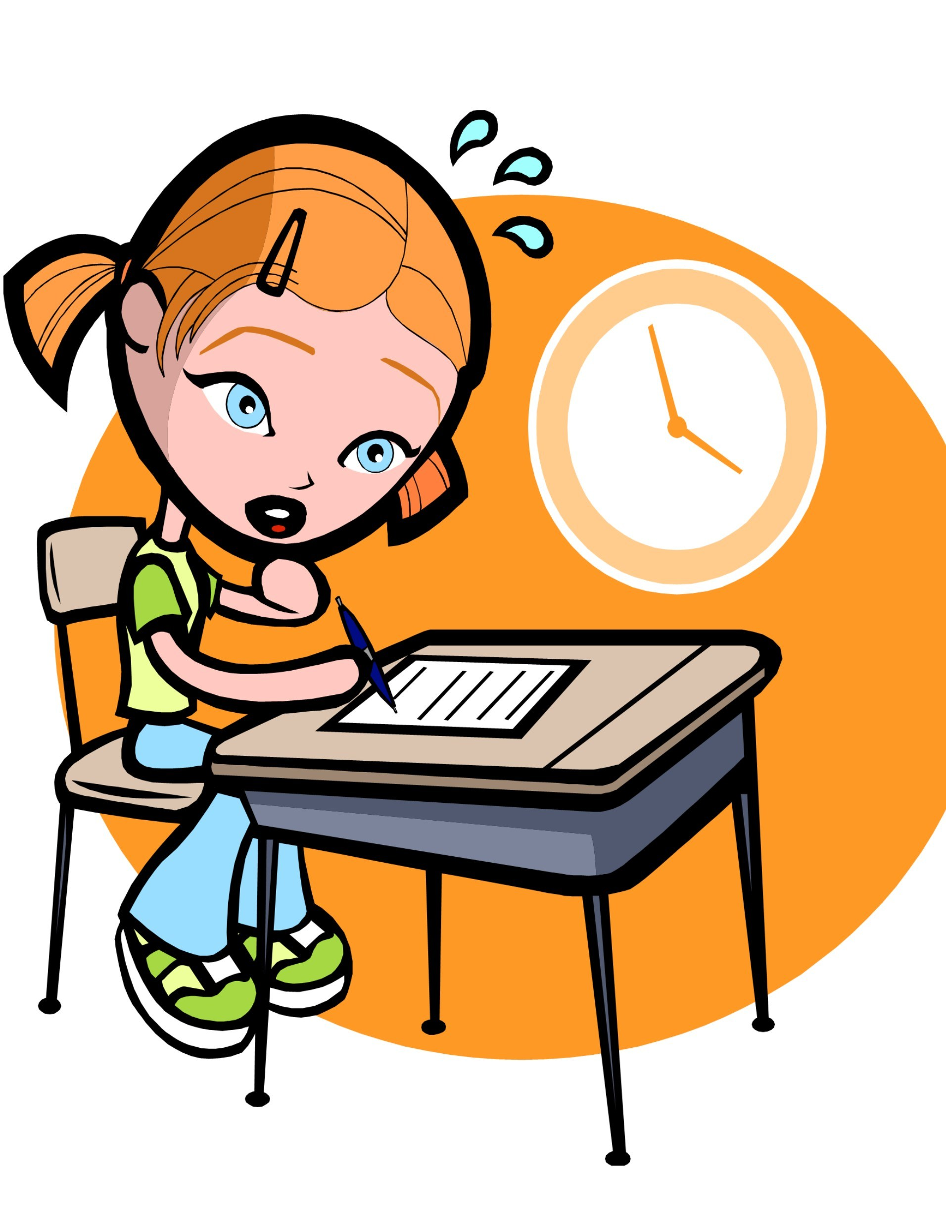 Test anxiety clipart 7 » Clipart Portal.