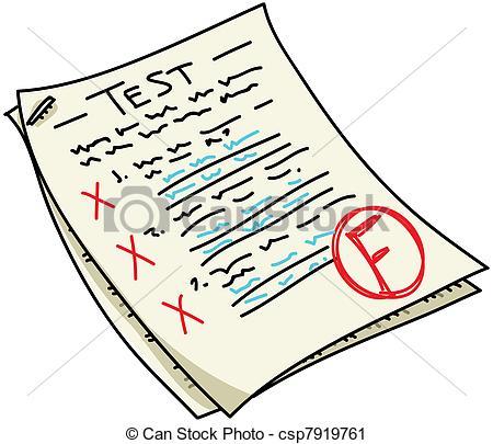 Fail test Clipart and Stock Illustrations. 846 Fail test vector.
