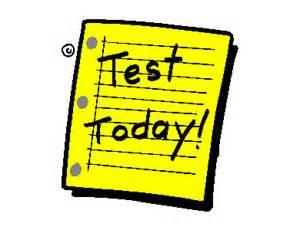 Test today clipart.