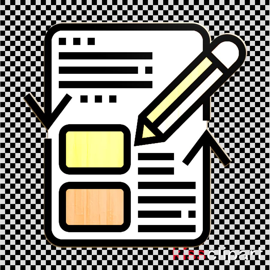 Agile Methodology icon Test icon clipart.