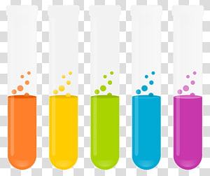 Clear glass bottle illustration, Laboratory flask Liquid.