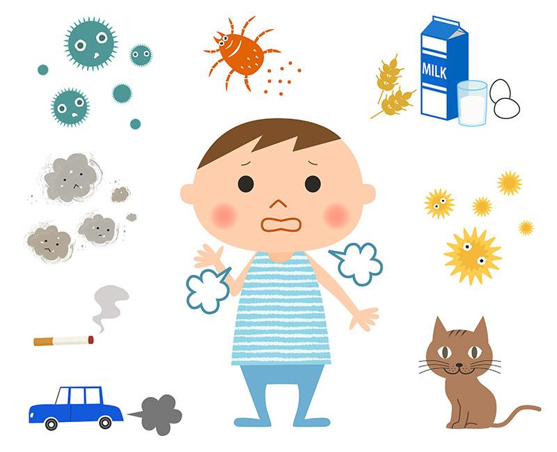Multiple allergies.