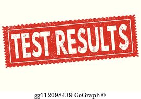 Test Results Clip Art.