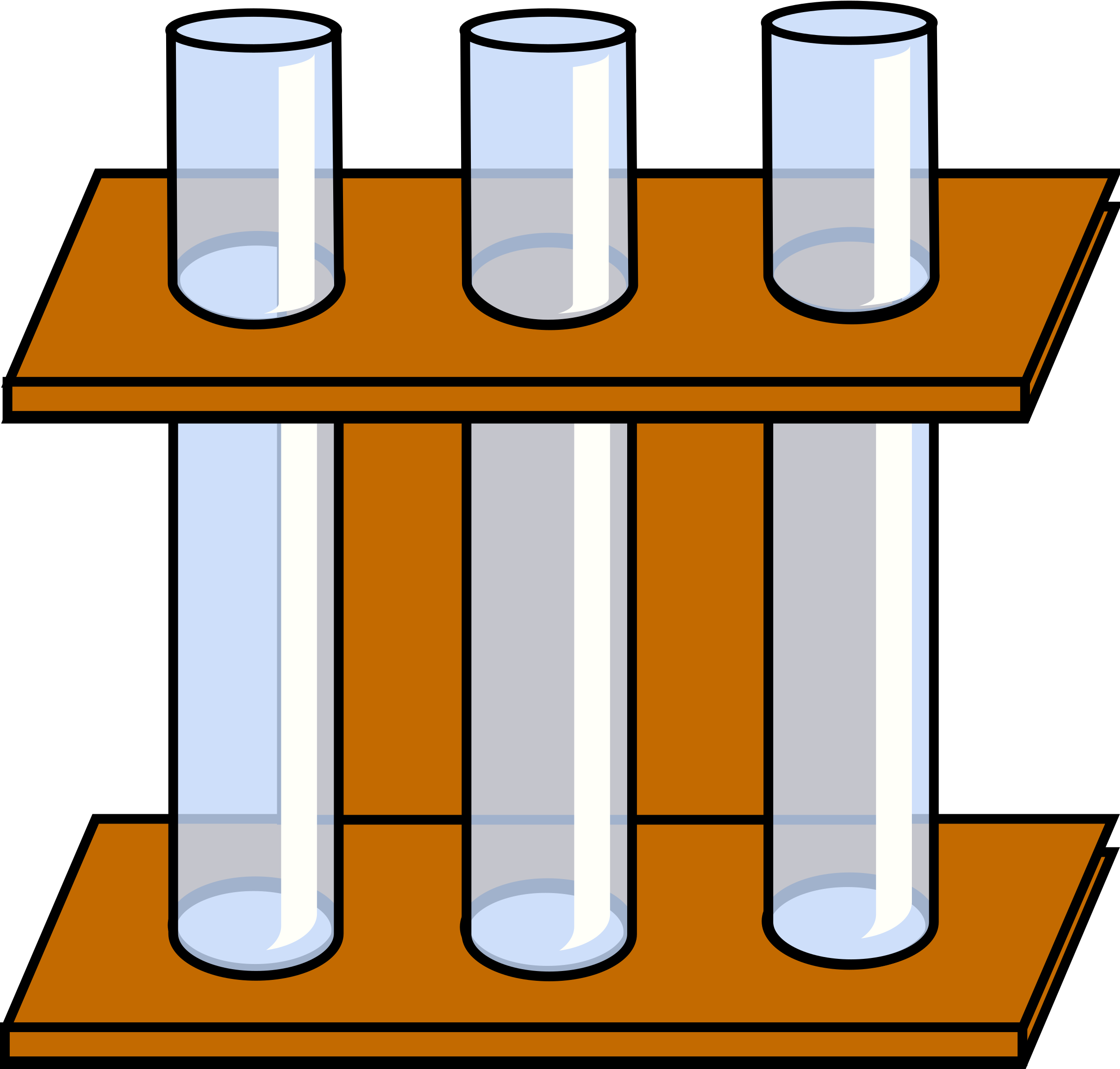 Test tube rack clipart.