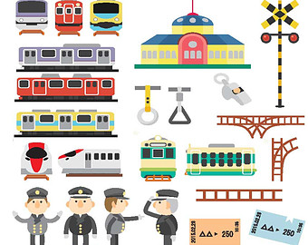 Tube train clipart.