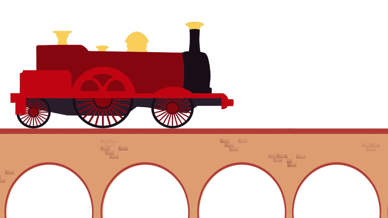 Steam Train Animation Test.