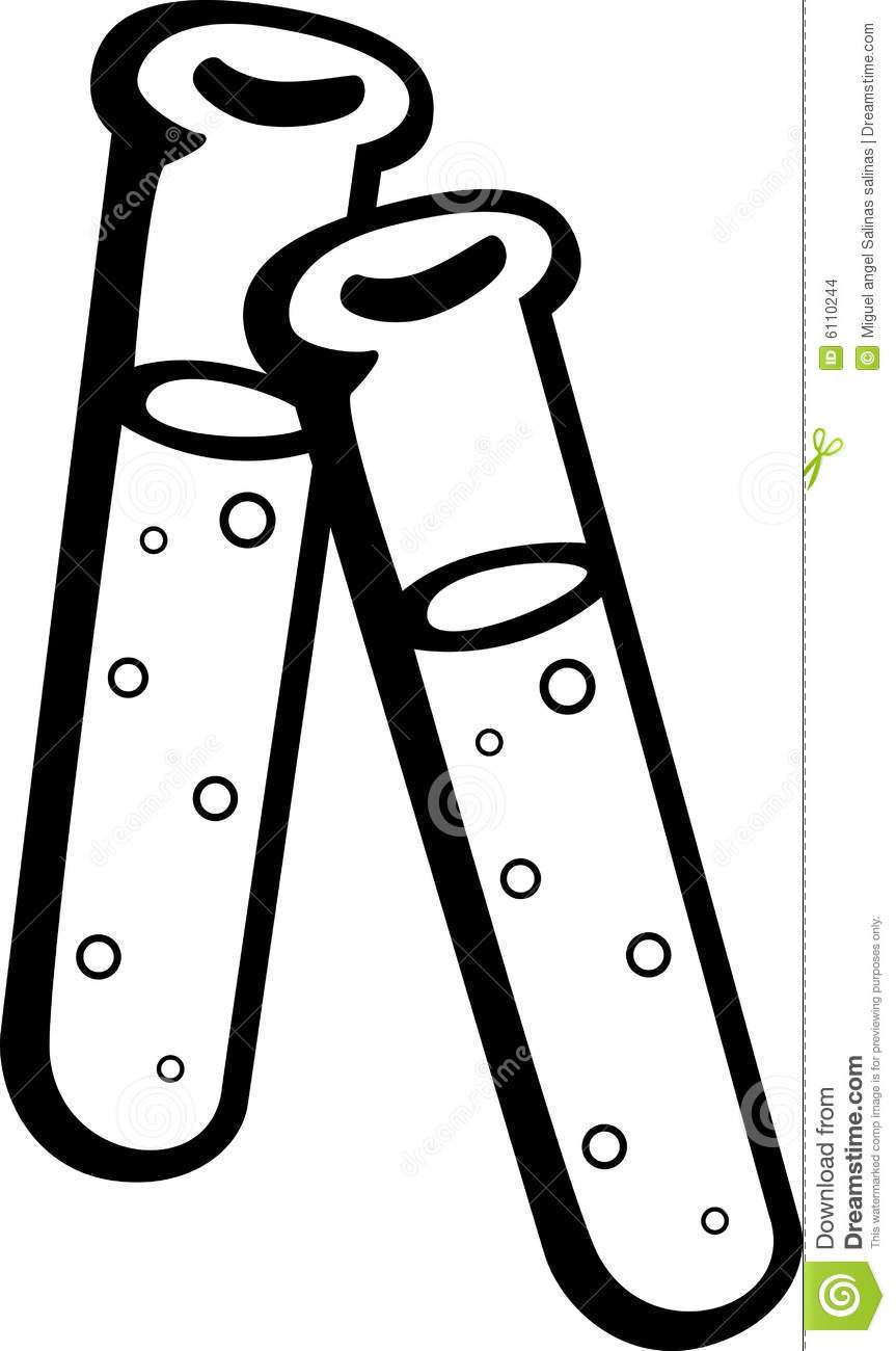 Test tube clipart black and white 4 » Clipart Portal.