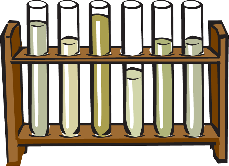 Test Tubes Clipart.