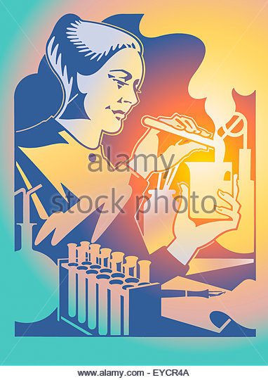 Scientist Mixing Solutions In Test Stock Photos & Scientist Mixing.