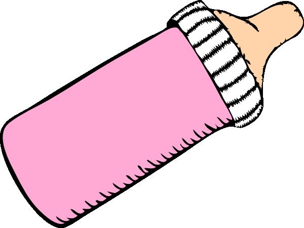 Pink Baby Bottle Clip Art at Clker.com.