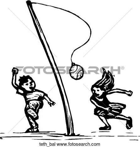 Tether Ball Clipart.