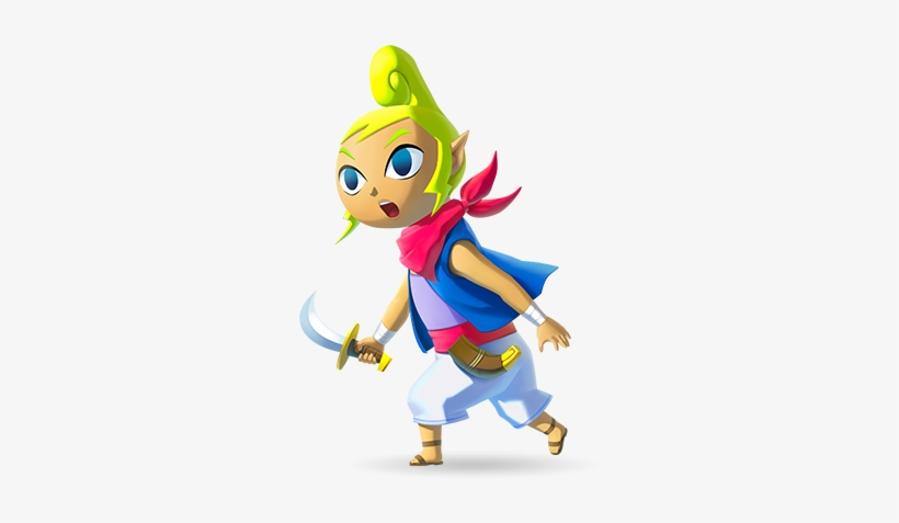 Tetra Wind Waker Hd Transparent PNG.