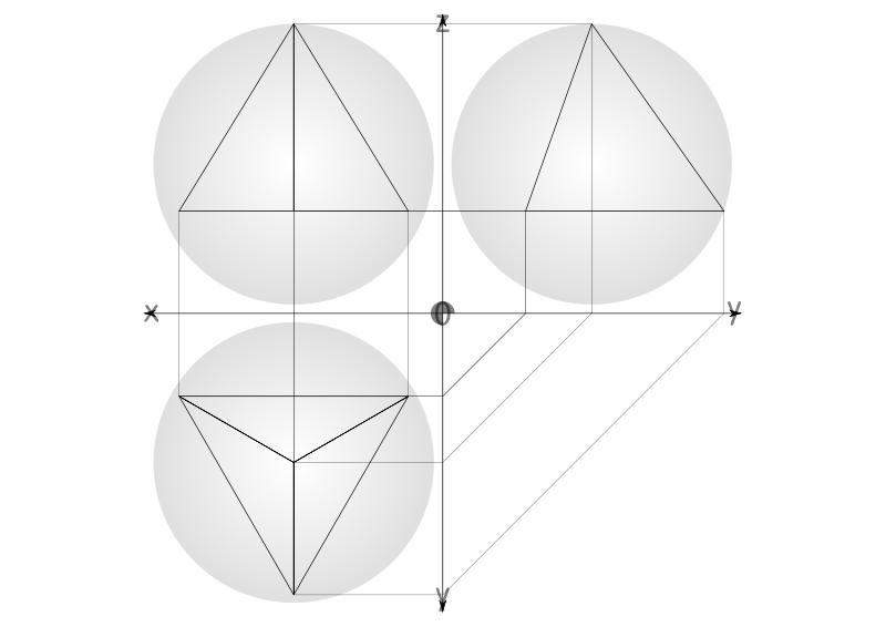 Tetrahedron Clip Art Download.
