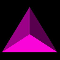 Tetrahedron Icon.