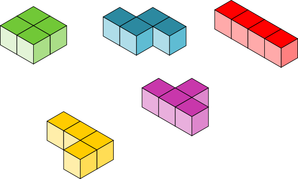Tetris Blocks Clip Art at Clker.com.