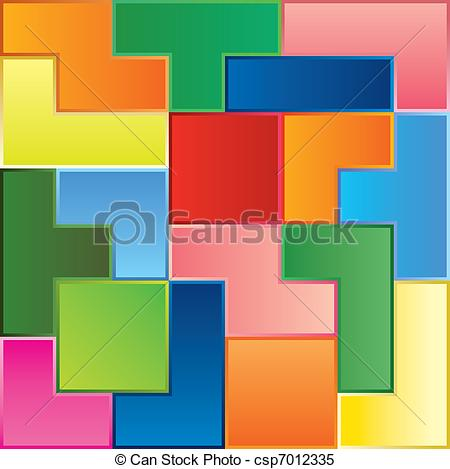Tetris Clip Art Vector Graphics. 361 Tetris EPS clipart vector and.