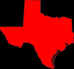 Texas Symbols Clipart.