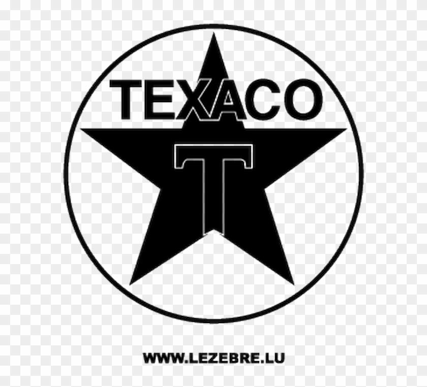 Texaco Logo Decal.