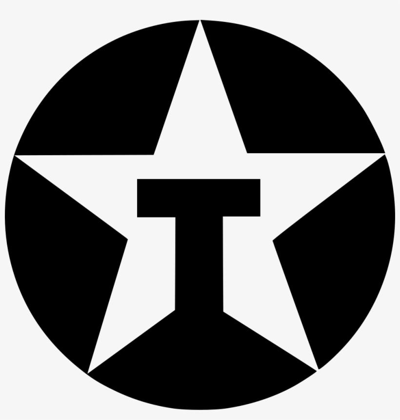Texaco Brand Logo Identity Logotype Star Round Comments.