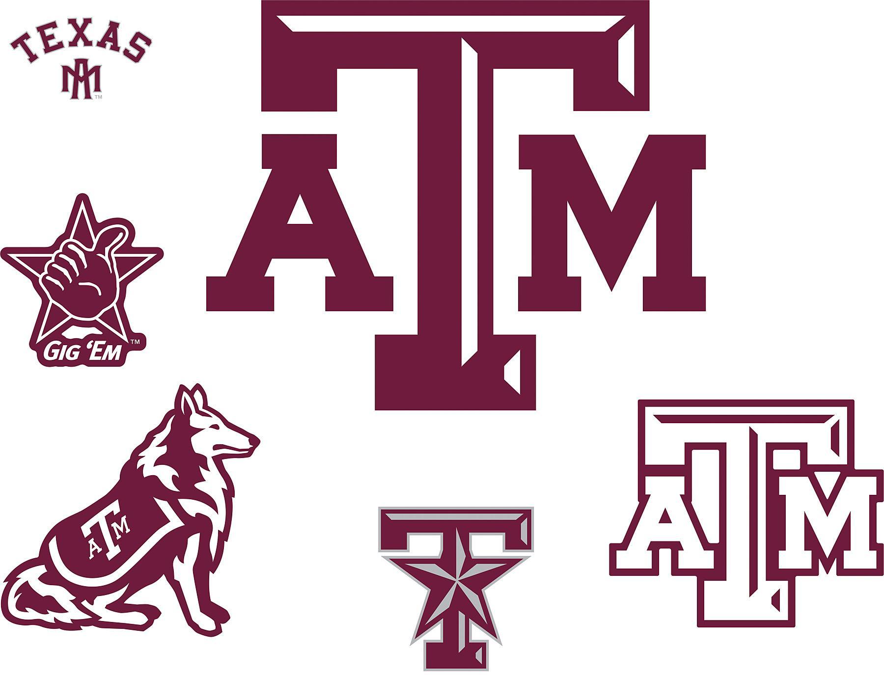 Texas A And M Flag Clipart.