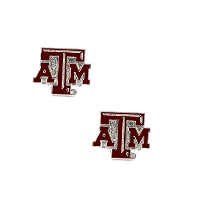 Amazon.com : aminco Texas A and M Aggies Post Stud Logo.