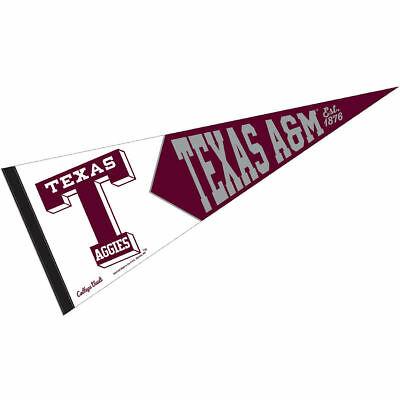 Texas A&M University Vault, Retro and Vintage Logo Pennant 43662056831.