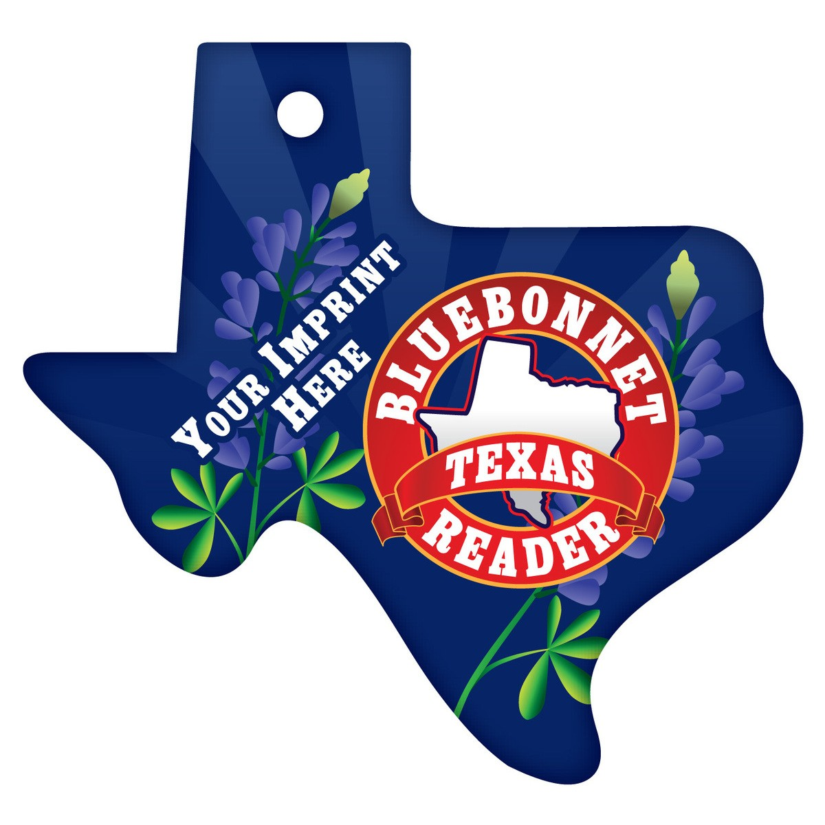 Custom Texas Brag Tags.