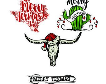 Image result for texas christmas svg.