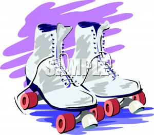 A Pair of Roller Skates.