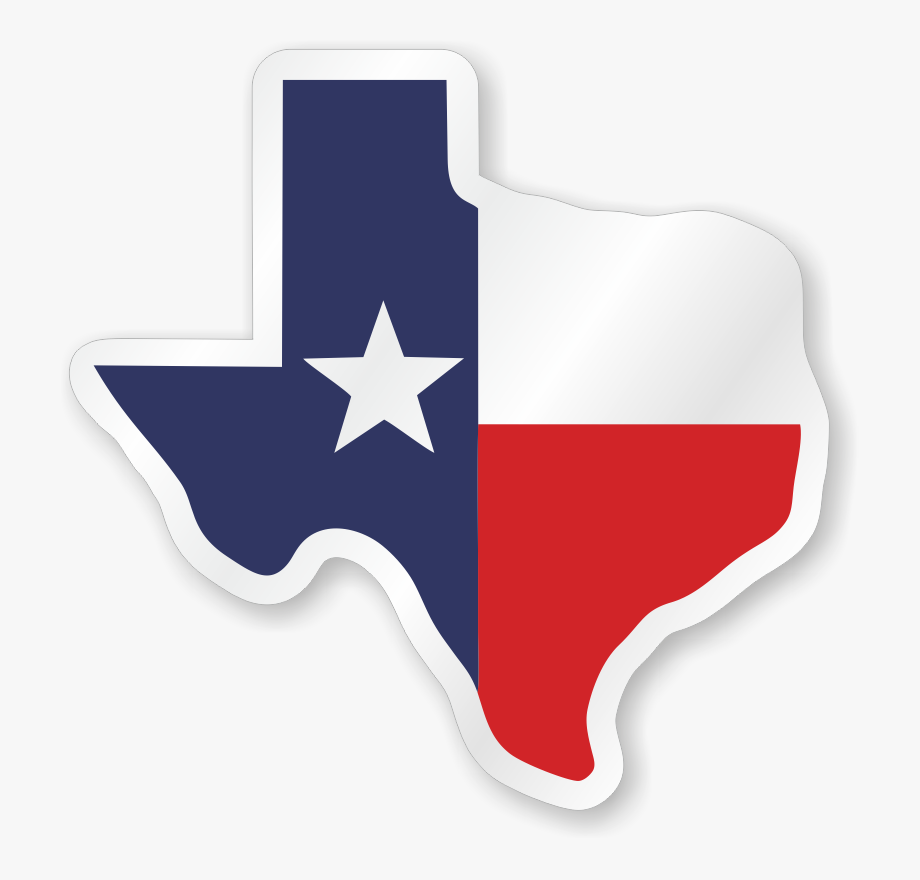 Texas Flag Hard Hat Decals.