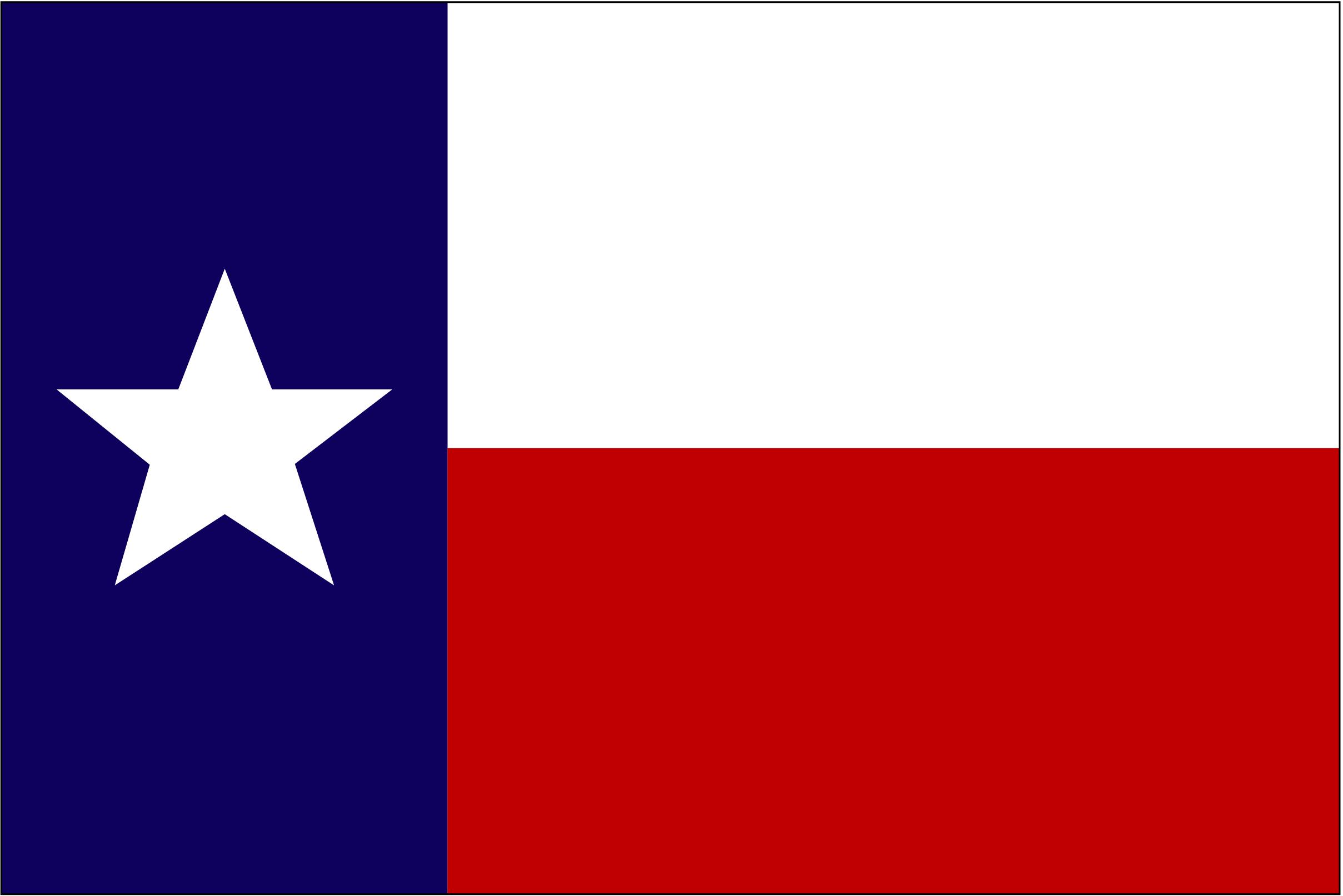 Texas Flag Image.